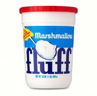 кремовый зефир Marshmallow Fluff Vanilla со вкусом ванили (454 грамма)