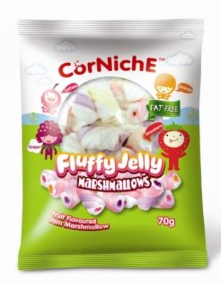 Corniche Marshmallows fluffy jelly 70g