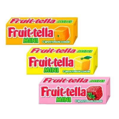 Fruittella жевательная конфета Мини 11гр