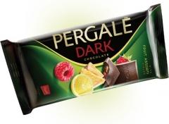 Темный шоколад Pergale фруктовое ассорти 93 гр