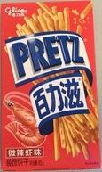 Pretz со вкусом креветок 45g (немного острые)