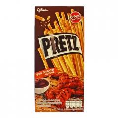 "Палочки ""Pretz"" Крылышки барбекю BBQ Chicken Pretz Glico 25 гр"