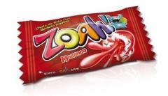"Docile ZOAH! Жев. резинка ""Red Tongue Painter Strawberry"" 5гр"