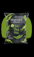 Чипсы Hunter's Gourmet Стручковый Зеленый Горошек 50г