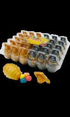 Леденец Johny Bee Граната с шипучкой 13 гр