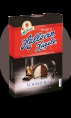 Конфеты Halloren Schoko-Rum Шоколад-Ром 125г