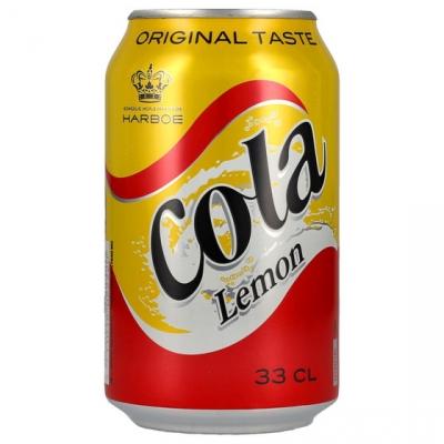 Harboe Cola Lemon 330 мл