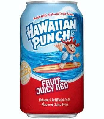 Hawaiian Punch Fruit Juicy Red (0,355 ml)