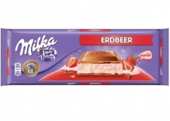 Milka Strawberry 300 грамм