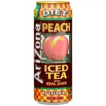Напиток Arizona Diet Peach Tea 0,68л