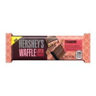 Hershey's Waffle Layer Crunch Strawberry Bar Вафельный батончик 39g