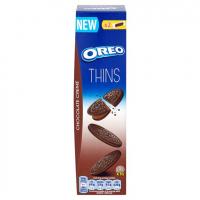 Oreo Crispy&Thin Chocolate creme 96 гр