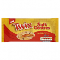 Twix Soft Centre Biscuits 144гр