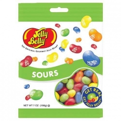 Jelly Belly Peg Bag Sours (70 грамм)