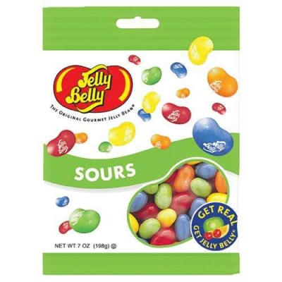 Jelly Belly Peg Bag Sours (99 грамм)