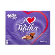 Набор шоколадных конфет Mika I Love Nuss Nougat creme 110g