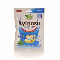 "Melland Леденцовая карамель ""XYLNOSU MILK MINT CANDY"" 68 гр"