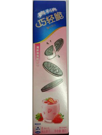 Oreo strawberry yogurt (95 грамм)