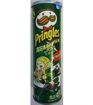 Pringles со вкусом нори 110gr