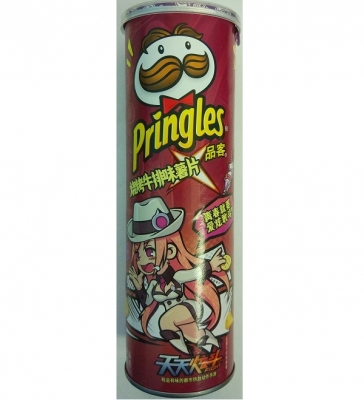 Pringles со вкусом говядины 110gr