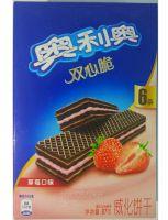 Вафли Oreo со вкусом клубники (87 грамм)