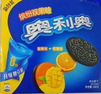 Oreo со вкусом апельсина и манго (388 грамм)
