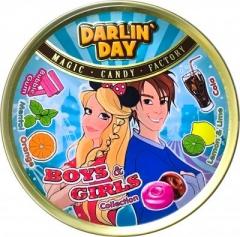"""Карамель леденцовая  """"DARLIN DAY"""" Boys&Girls Collection со вкусом бабл гам,колы,ментола,апельсина,лимона и лайма (180 грамм)"""