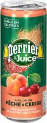 Газированный напиток Perrier Персик Вишня 250мл