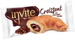 Круассаны INVITE CROISSANT (Шоколад) 50 гр