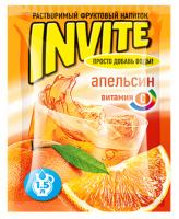 Растворимый напиток Invite Апельсин 9г