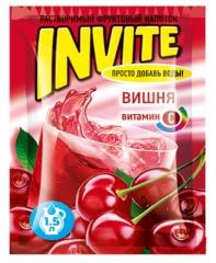 Растворимый напиток Invite Вишня 9г