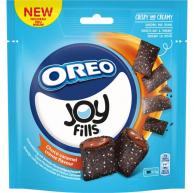 Хрустящие подушечки Joyfills Oreo Choco Caramel Biscuits Soft 90 гр