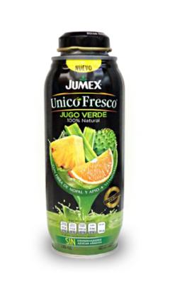 Сок Jumex Unicofresco Jugo Verde прямого отжима 100% Зеленый сок 500 мл