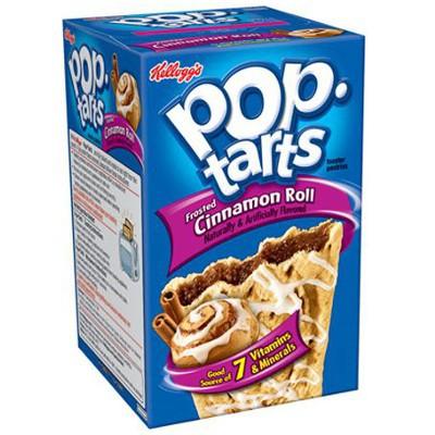Печенье Pop Tarts 8 PS Frosted Cinnamon Roll 400 грамм