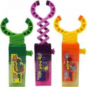 Kidsmania Grab Pop Robot Arm Lollipops Леденец с фруктовым вкусом 17гр