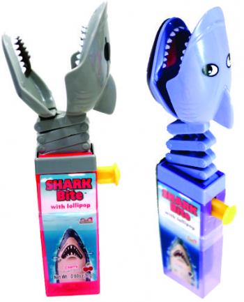 Kidsmania Shark Bite With Lollipop Леденец 17гр