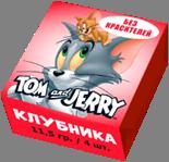 Tom and Jerry конфеты жевательные со вкусом Клубники 11,5 гр
