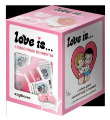 LOVE IS Клубника 105г