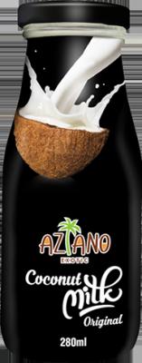 Кокосовое молоко Aziano (Coconut milk original) 280 мл