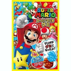 Жевательный мармелад Nobel Супер Марио со вкусом колы и содовой (45 грамм)