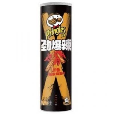 Чипсы Pringles со вкусом азиатских закусок под острым Сычуаньским соусом 110 гр
