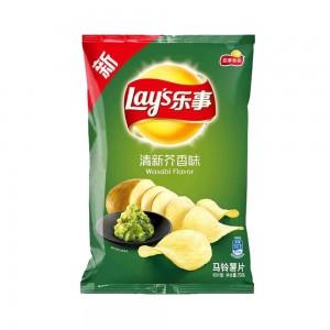 Чипсы «Lay's» со вкусом васаби 70гр