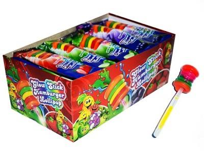 Glow Stick Hamburger Lollipop 10 гр