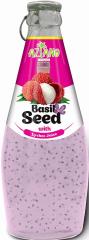 Aziano 30% нектар Личи с семенами базилика (290 мл)