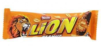 Шоколад Lion Peanut с арахисом
