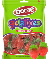 Docile GELATINES SOUR STRAWBERRY 80 гр