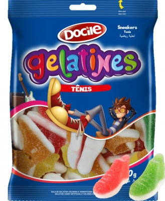 Docile GELATINES SOUR SNEAKERS 80 гр