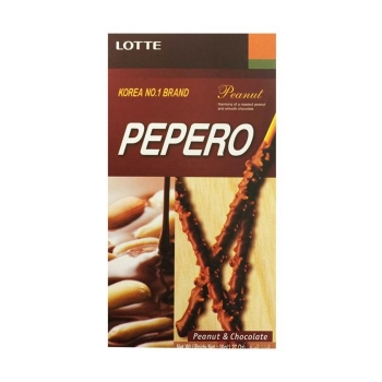 Палочки Pepero Peanut and Chocolate 36 гр