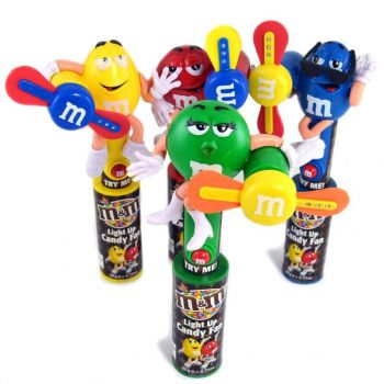 M&M's Light Up Candy Fan 140 gr
