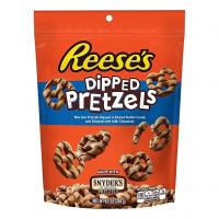 Reese's Dipped Pretzels Peg Bag Хрустящие печеньки 120гр